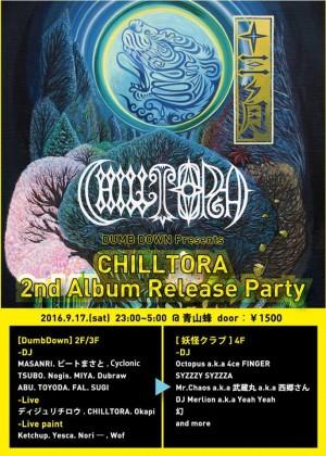 CHILLTORA 2nd Album Release Party