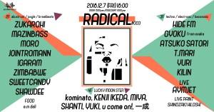radical #003