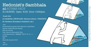 Hedonist 's Sambhala