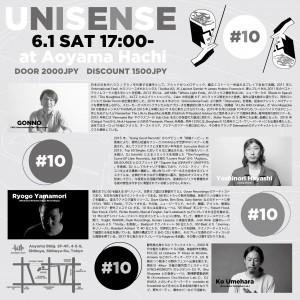 UNISENSE #10