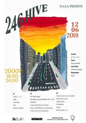 N.A.S.A. presents 246HIVE VOL.4