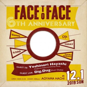 Face to Face 6th anniversary